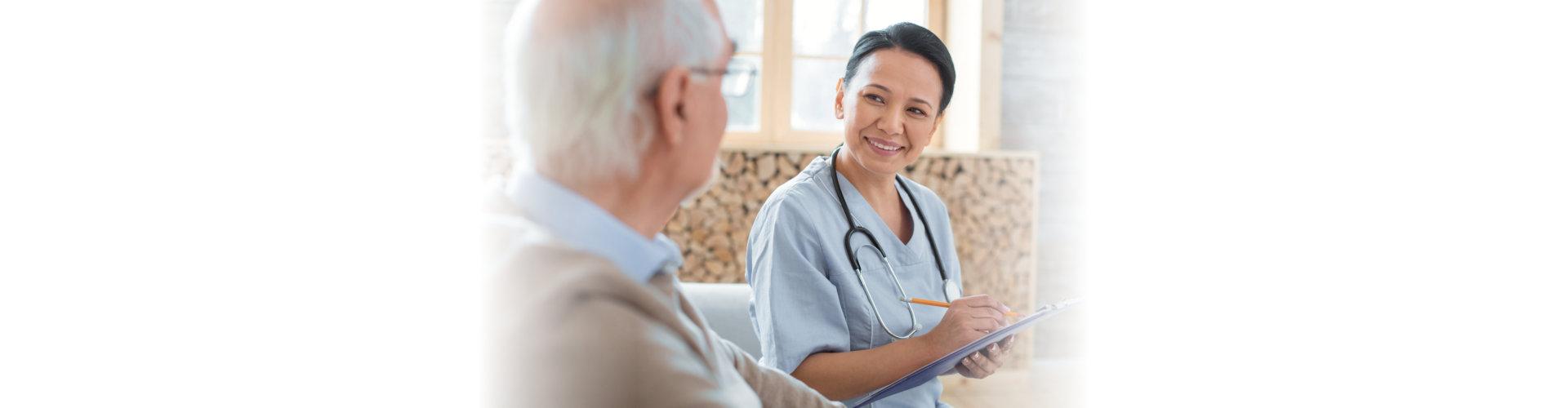nurse interview patient